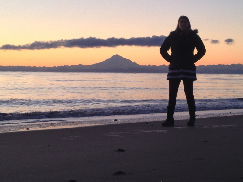 Corrie and Mt. Redoubt